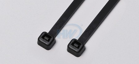 80x2.4mm (3.2x0.09 inch), Cable Ties, PA66, Weather Resistant