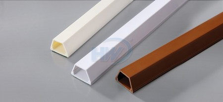 Telephone Wiring Ducts,PVC,12.4x7.3mm - Telephone Wiring Ducts