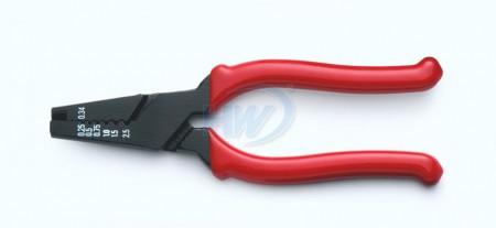 "Herramientas para casquillos de extremo de cable, rango de cable 0,25 ~ 2,5 mm2 (24-14 AWG - <i class=""homologous"" origin=""2B-2"" lang=""en""></i>Herramientas 2B-2 para casquillos de extremo de cable"