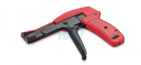 Herramientas para bridas de plástico, metal, ancho 2,4 ~ 4,8 mm, grosor 1,0 ~ 1,6 mm