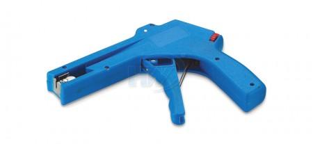 Herramientas para bridas de plástico, plástico, ancho 2,4 ~ 4,8 mm, grosor 1,0 ~ 1,6 mm