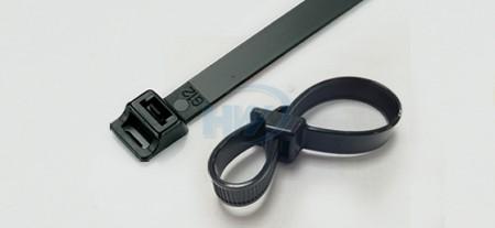 双钩式束带, PA66, 235mm, 12.6mm - 双钩式束带