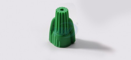 Grounding Wire Connectors,PP/Steel spring,Temp Rating105°C(221)°F,Voltage 600V,Suitable Wire AWG 14-10