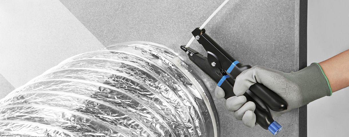 Auto-corte Herramienta para atar cables
