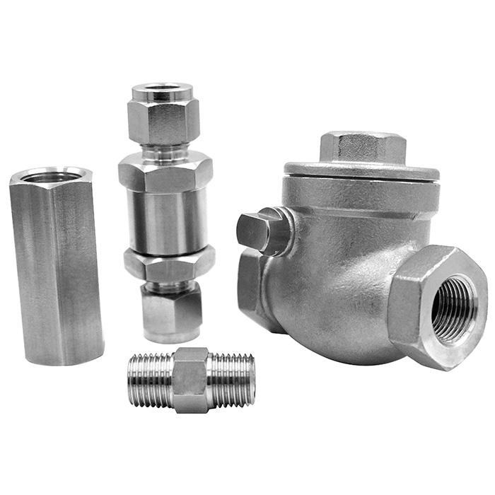 To prevent back flow of various check valve.