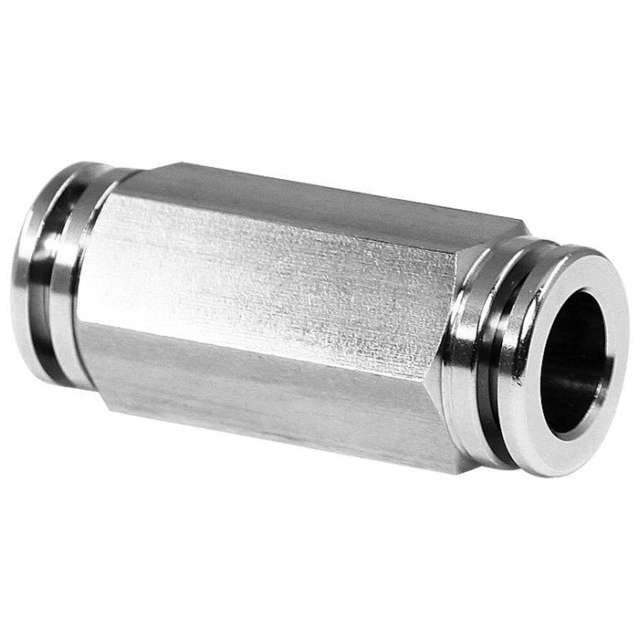 Push-in Pneumatic Fittings Unions.