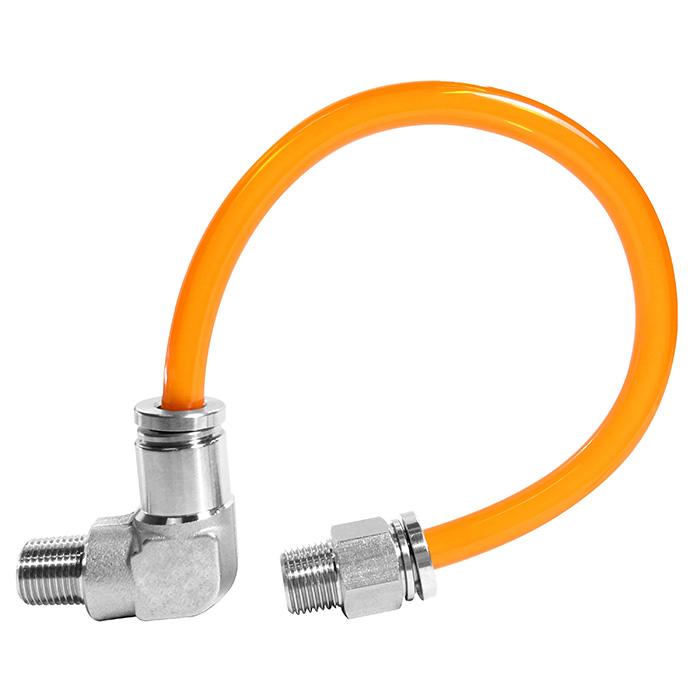 Racor neumático push-in / push-in para conectar racores neumáticos.
