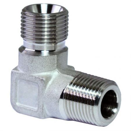 BS5200 60° Cone Hydraulic Fittings Male Elbow - BS5200 60° Cone Hydraulic Fittings Male Elbow.