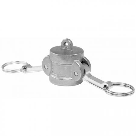 Camlock Quick Couplings Dust Cap (Type DC) - Camlock Quick Couplers, also known as cam and groove couplings, camlock hose couplers, are normally connected hose.