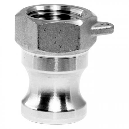 Camlock Quick Couplings Female Plug (Type A) - Camlock Quick Couplers, also known as cam and groove couplings, camlock hose couplers, are normally connected hose.