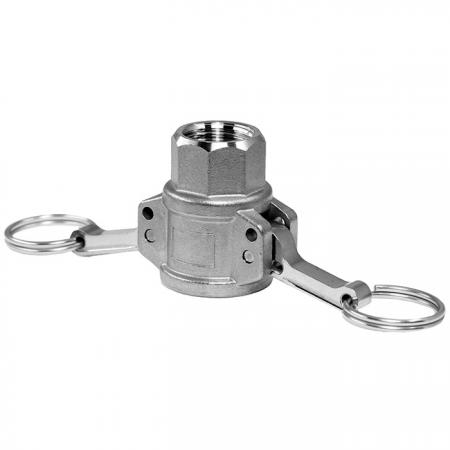 Camlock Quick Couplings Female Socket (Type D) - Camlock Quick Coupler, also known as cam and groove coupling, camlock hose coupler.