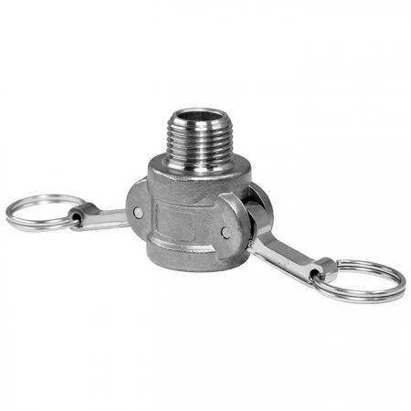 Camlock Quick Couplings Male Socket (Type B) - Camlock Quick Coupler, also known as cam and groove coupling, camlock hose coupler.