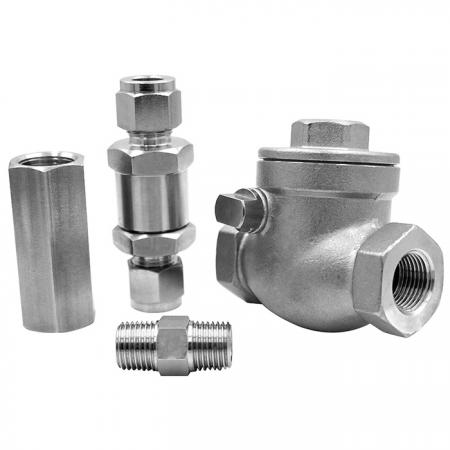 Check Valve - To prevent back flow of various check valve.
