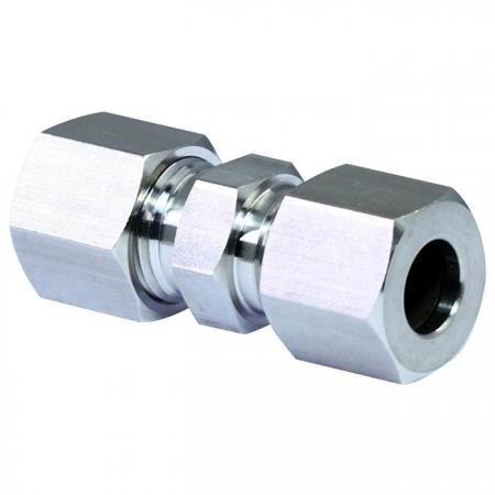 Stainless Steel Compression Fittings Union - Stainless steel compression fittings union.
