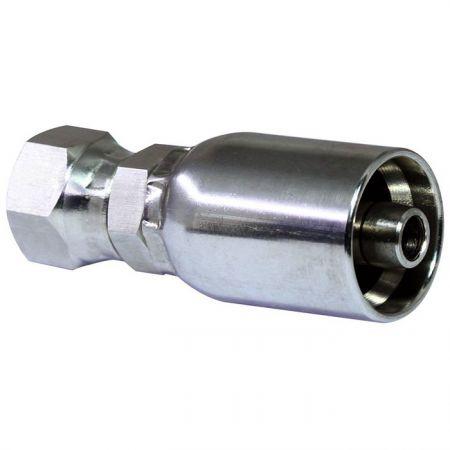 Crimp-Schlauchfittings Hochdruck-Hydraulikschlauch an JIC 37° Swivel - Crimp-Schlauchfittings Hochdruck-Hydraulikschlauch an JIC 37°-Drehgelenk.