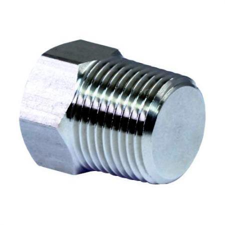 Hex Plug - External Hex Plug is used to stop the fluid flow in pipelines.