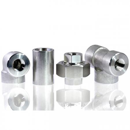 High Pressure Pipe Fittings - High pressure pipe fittings connect with male thread or welding.