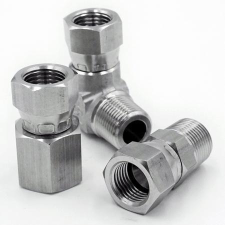 JIC 37° Swivel - Hydraulic Fittings 37° Swivel based on JIC International Standard.