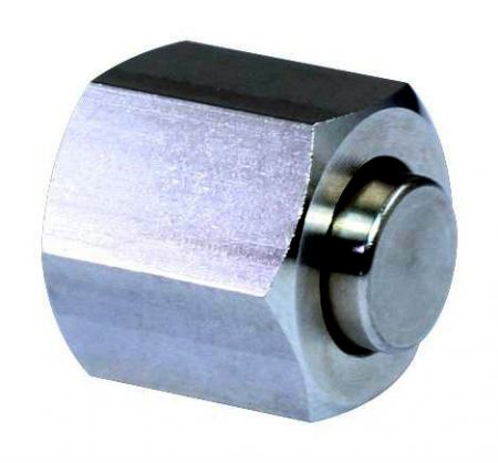 JIC 37° Flare Hydraulic Fittings Cap - Stainless-steel JIC 37° Flare Hydraulic Fittings Cap.