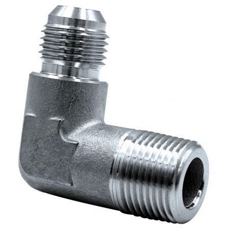 JIC 37° Flare Hydraulic Fittings Male Elbow - JIC 37° Flare Hydraulic Fittings Union.