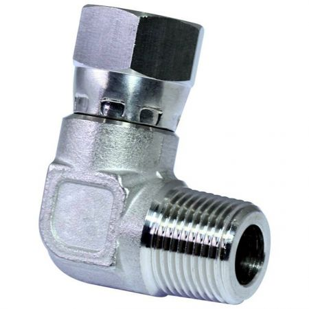 JIC 37° Swivel Fittings Male Elbow - Stainless steel JIC 37° Flare Swivel Fittings Male Elbow.