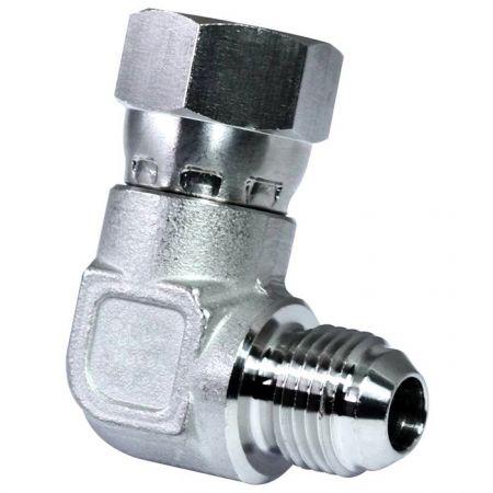 JIC 37° Swivel Fittings Swivel Elbow - Stainless steel JIC 37° Swivel Fittings Swivel Elbow.