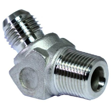 JIS 30° Flare Hydraulic Fittings 45° Male Elbow - JIS 30° Flare Hydraulic Fittings 45° Male Elbow.