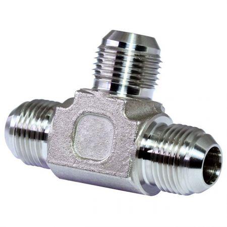 JIS 30° Flare Hydraulic Fittings Union Tee - JIS 30° Flare Hydraulic Fittings Union Tee.