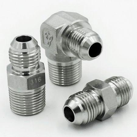 JIS 30° Hydraulic Fittings - JIS 30° hydraulic Fittings are in accordance with JIS international standard.