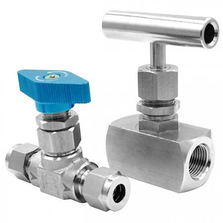 Needle Valve - Accurately adjust flow in valves.