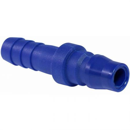 One Touch Quick Couplings Hose Plug (Nylon66 + GF) - Also known as one-hand operation quick coupling, one-hand operation quick coupler, one-hand quick release coupling.