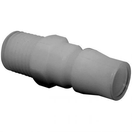 One-Way Shutoff Quick Couplings Male Plug (Nylon66) - One-Way Shutoff Quick Couplings Male Plug (Nylon66)
