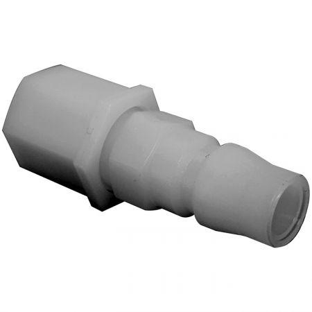 One-Way Shutoff Quick Couplings PU Plug (Nylon66) - One-Way Shutoff Quick Couplings PU Plug (Nylon66).