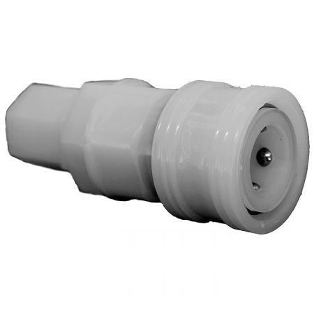 One-Way Shutoff Quick Couplings PU Socket (Nylon66) - One-Way Shutoff Quick Couplings PU Socket (Nylon66)