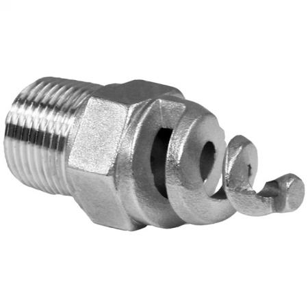Spiral Nozzles - Spiral Full Cone Male Thread Nozzle.