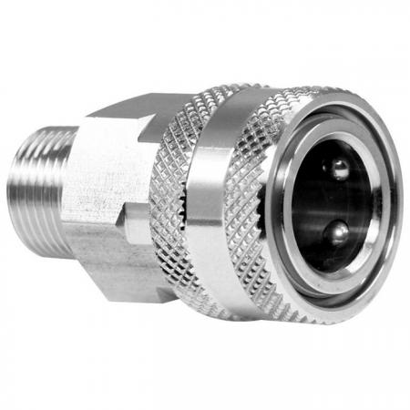 Straight Through Quick Couplings Male Socket - Straight Through Quick Couplings Male Socket.