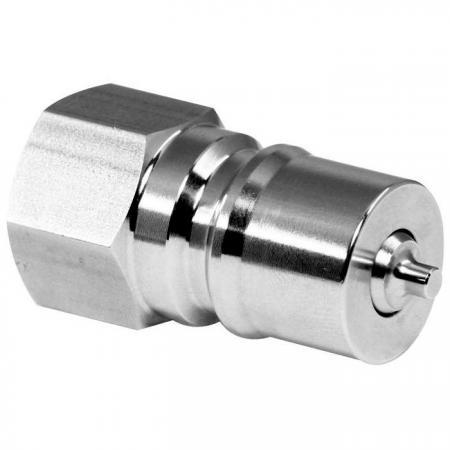 Two-way Shutoff Quick Couplings Plug