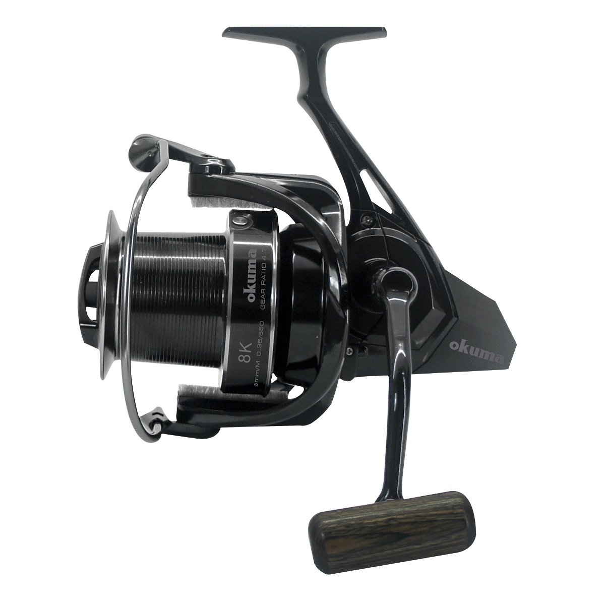 8K Spinning Reel - Okuma 8k Spinning Reel-Long casting spinning reel-Precision worm shaft transmission system-Slow oscillation system
