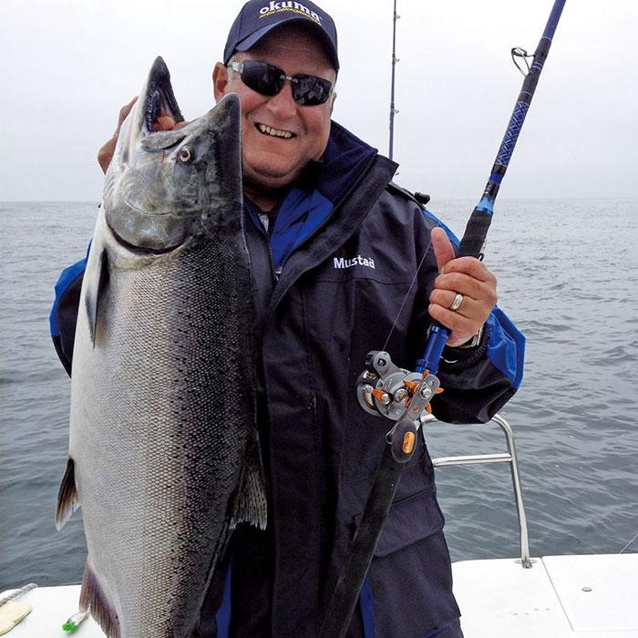 Lansete pescuit în ape salmastre
