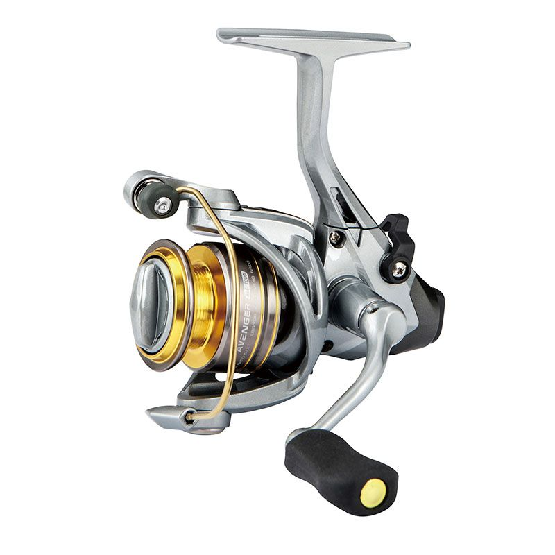 Avenger ABF Spinning Reel - Okuma Avenger ABF Spinning Reel -On/Off auto trip bait feeding system-6BB + 1RB stainless steel bearing system-Cyclonic Flow Rotor technology