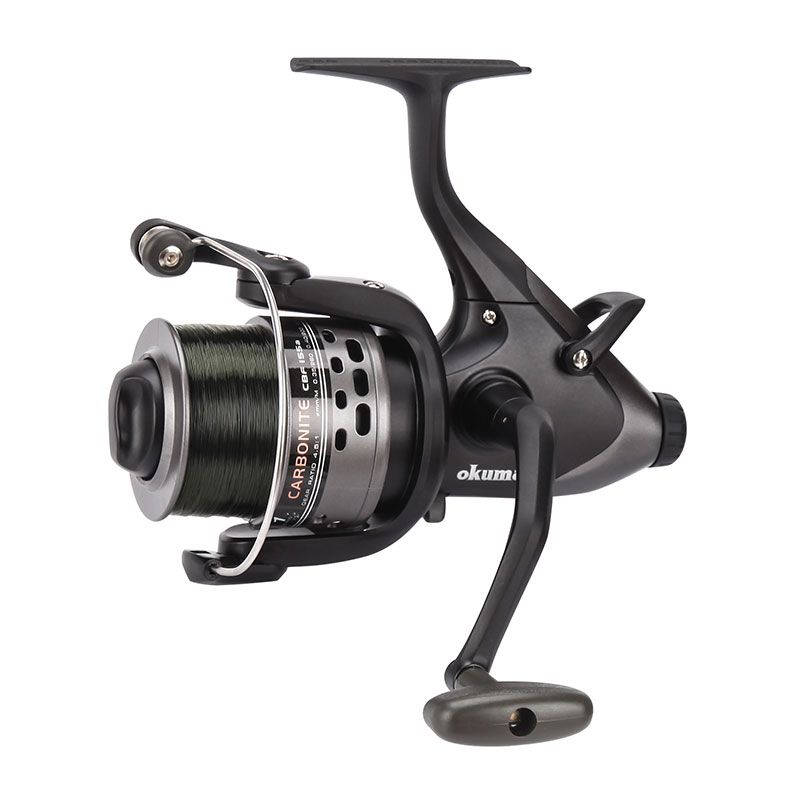 Carbonite XP Baitfeeder Spinning Reel - Okuma Carbonite XP Baitfeeder Spinning Reel-On/Off auto trip bait feeding system-Precsion Elliptical Gearing System