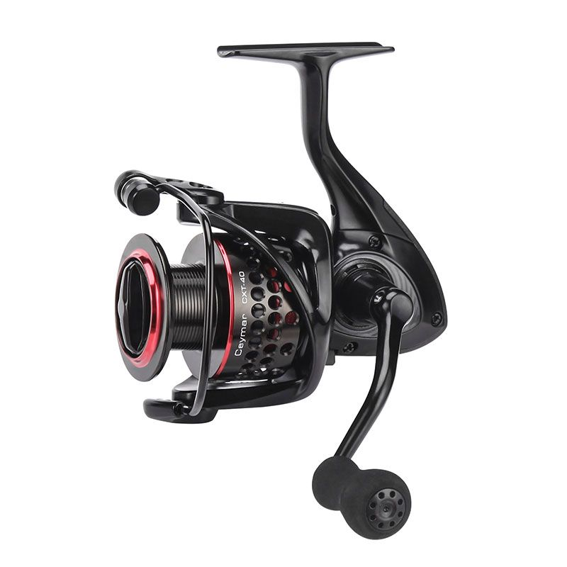 Ceymar XT Spinning Reel - Okuma Ceymar XT Spinning Reel-Cyclonic flow rotor design-Precision Elliptical Gearing System-Includes front drag and rear drag type with extra spool