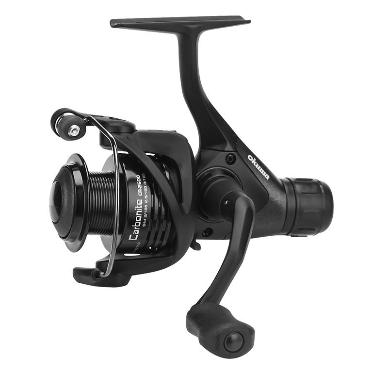 Carbonite Spinning Reel - Okuma Carbonite Spinning Reel -Corrosion resistant graphite body and rotor-Cyclonic Flow Rotor technology