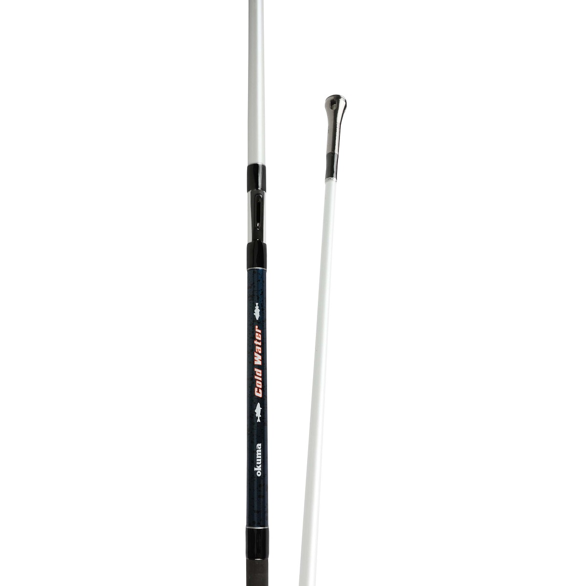 Cold Water Rod - Okuma Cold Water Rod-Responsive and durable 24-ton carbon blank construction-Okuma stronger DPS reel seat-EVA fore grips and Durable shrink tube rear grips