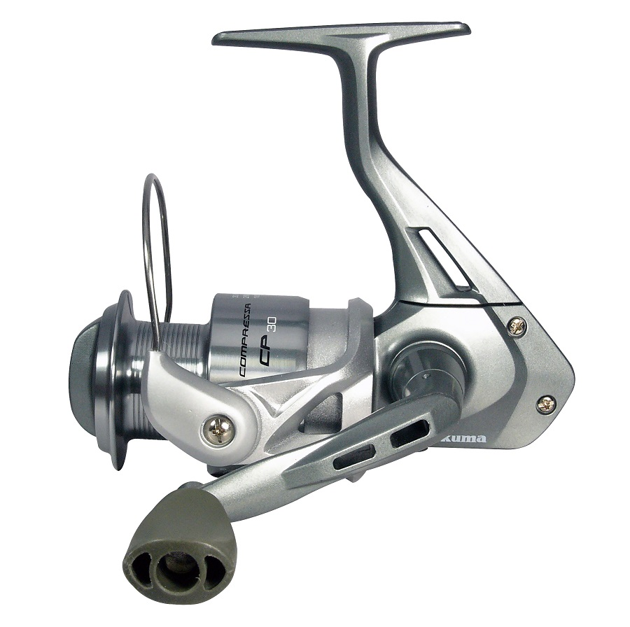 Compressa Spinning Reel - Okuma Compressa Spinning Reel-Quick-exchange design of spool -3 ball bearings- Aluminum spool