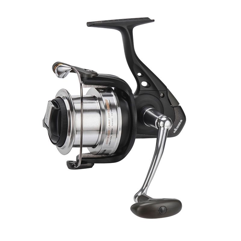 Distance Carp Intr Spinning Reel - Okuma Distance Carp Intr Spinning Reel-Quick-Set anti reverse one way bearing-Hydro block system