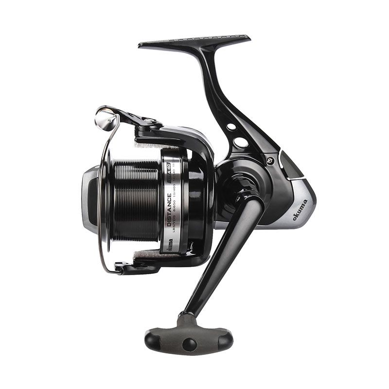Distance DTA Spinning Reel - Okuma Distance Dta Spinning Reel-Quick-Set anti reverse roller bearing-Hydro block system