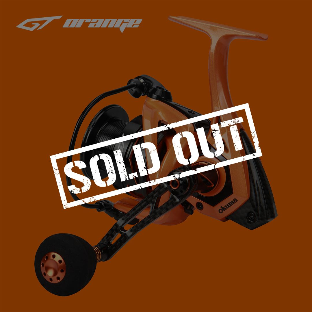 GT Spinning Reel (Limited Edition)-GT Orange - GT Spinning Reel (Limited Edition)