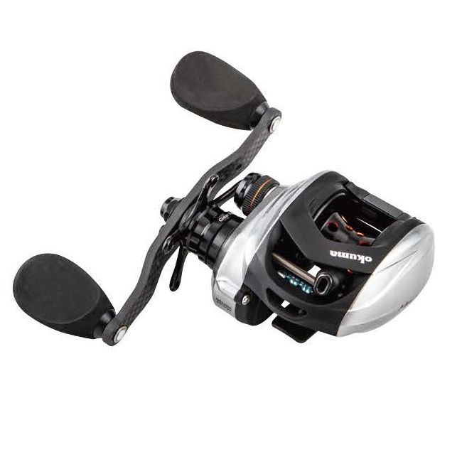 Helios SX Low Profile Baitcast Reel - Okuma Helios SX Low Profile Baitcast Reel-Internal velocity control system-Friction free shaft system allows for longer casts-Rigid diecast aluminum frame and sideplates
