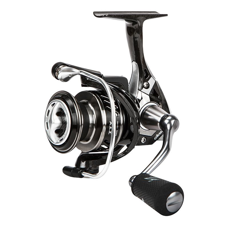 ITX Carbon Spinning Reel (2021 NEW) - Okuma ITX Spinning Reel- Lightweight And Rigid C-40x Carbon TCA™ And Rotor- Machined Aluminum Screw In Handle Design With TGT Grip